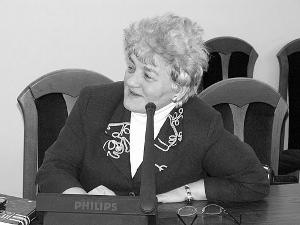 Senator Janina Fetlińska