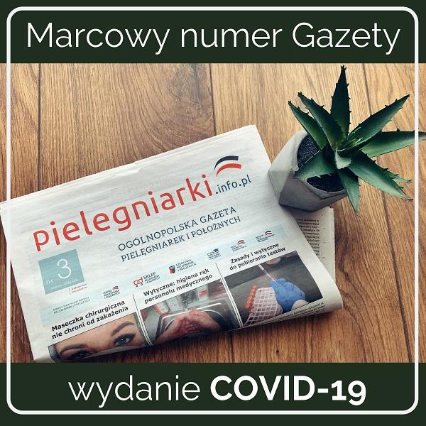 Ogólnopolska Gazeta Pielęgniarek - wydanie COVID-19.