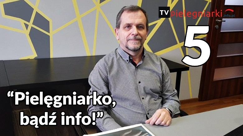 """Pielęgniarski vlog (5) – """"Pielęgniarko, bądź info!"""""""