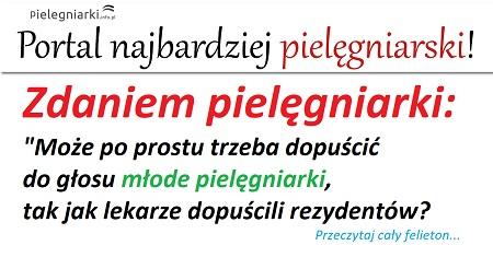 Komentarz na pielegniarki.info.pl: Właśnie zaczęliśmy studia magisterskie w prywatnej uczelni, jest nas prawie 170, chętnych było ponad 240. Damy na to prawie 8 800 zł w ciągu 2 lat. Co dostaniemy? Tytuł mgr pielęgniarstwa i pewno zero podwyżki…