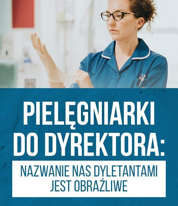 Pielęgniarek nie cenią. Praca od 2700 PLN.