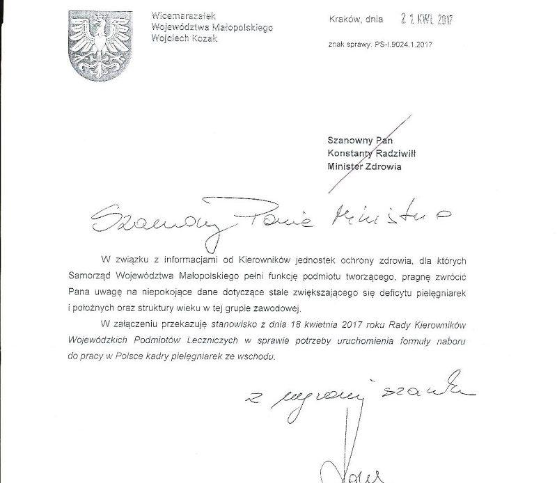 Dobry pomysł? Państwo polskie powinno pokryć koszt studiów pomostowych dla osób z Ukrainy i Białorusi, które będą zatrudnione przez polskie szpitale jako asystentki pielęgniarstwa! To nie żart.