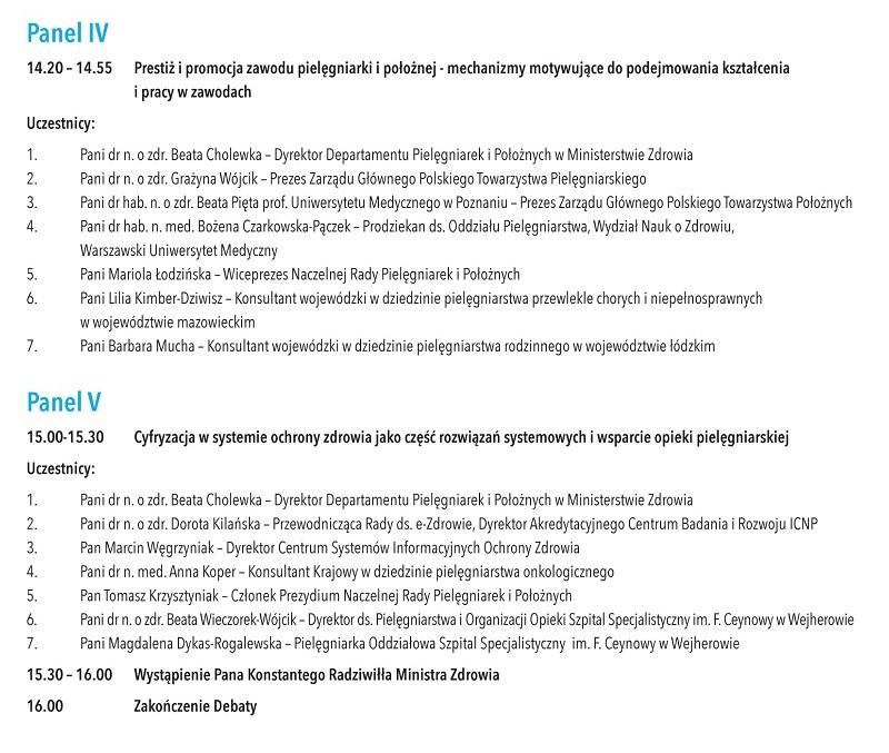 """Gowin, Radziwiłł… to uczestnicy debaty w dniu 27 marca, poświęconej """"problemom współczesnego pielęgniarstwa i położnictwa w Polsce"""". Dobre i to, że władza zauważa… problemy."""
