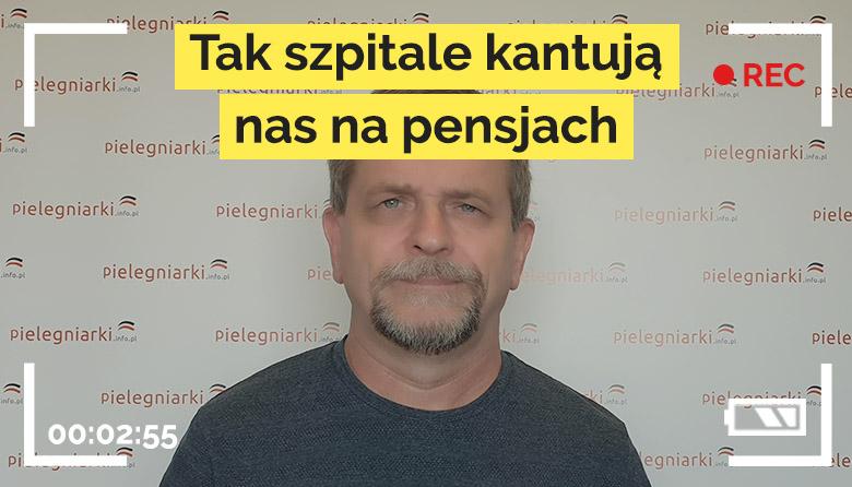 """Pielęgniarski live #18 – """"Tak szpitale kantują pielęgniarki."""""""