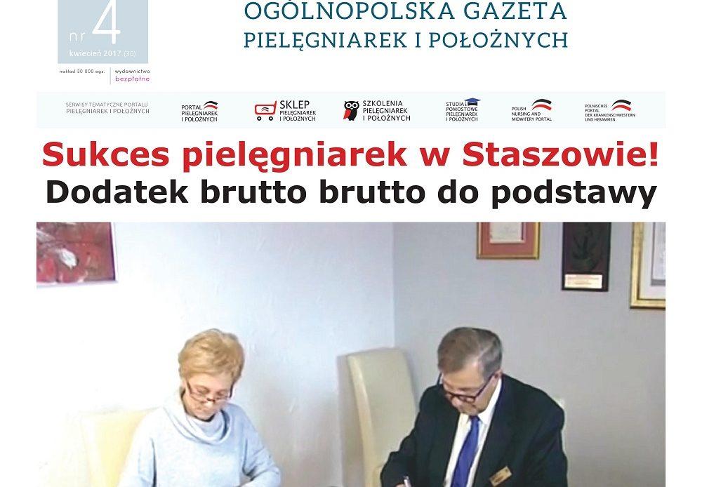 Staszów to kamyczek, który lawinę… Pielęgniarki chcą spotkać się z dyrektorami szpitali i starostami województwa świętokrzyskiego, aby ci włączyli dodatki brutto brutto do wynagrodzenia zasadniczego w  wysokości 460 złotych netto.