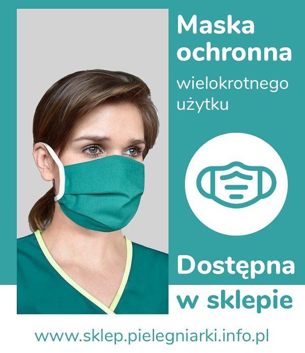 Pielęgniarki: Jak prawidłowo nałożyć i zdjąć maseczkę ochronną.