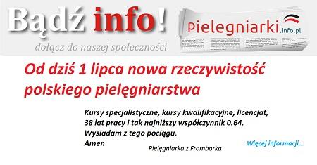 """Kilka słów wiceministra zdrowia (pielęgniarka) w sprawie zespołu ds. opracowania strategii na rzecz rozwoju pielęgniarstwa i położnictwa w Polsce. Zespół """"obejmuje 5 obszarów ukierunkowanych na…""""."""