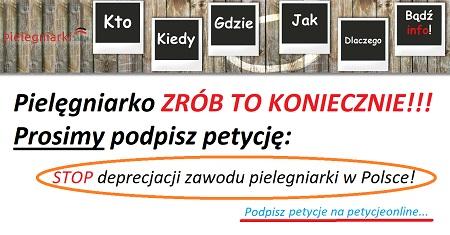 Komentarz na pielegniarki.info.pl: To jest zmierzch polskiego pielęgniarstwa. Powołali kolejne zespoły aby debatować nad poprawą warunków pracy pielęgniarek. Może za 30 lat coś ustalą. Dalej będzie improwizacja i mydlenie oczu. I dzielenie wirtualnymi podwyżkami. Tu się nic nie zmieni, szkoda czasu na złudzenia.