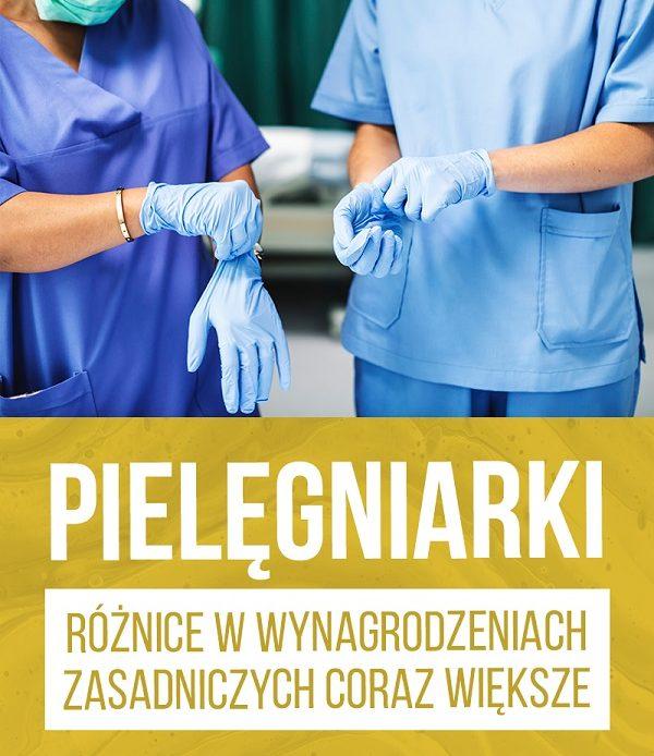 MZ: nasze działania pozytywnie wpływają na sytuację materialną pielęgniarek, biorących udział w zwalczaniu epidemii.
