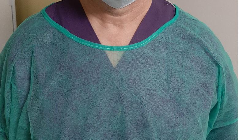 Pielęgniarka: z flizelinką na czołgi.