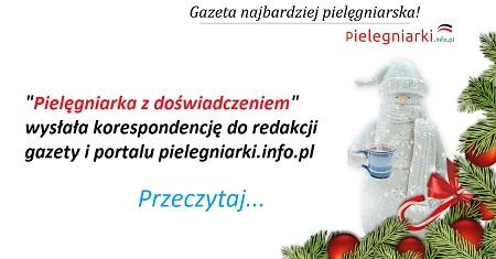 """Komentarz na pielegniarki.info.pl: """"Moje ostatnie praktyki na pediatrii prowadziły panie na 2-3 lata przed emeryturą, młodych do pracy na oddziale brak. Dużo się nauczyłam, ale za 1850 zł podstawy plus wyrównanie do najniższej nie pójdę pracować""""."""