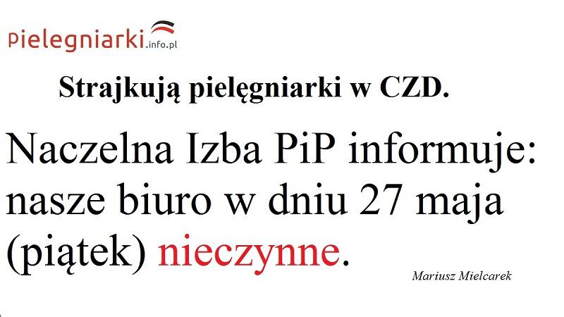 """Strajk pielęgniarek w CZD. KONIECZNIE przeczytaj wywiad z szefowa szpitalnego związku zawodowego pielęgniarek. """"A zanosi się na """"krajówkę""""? Pójdą za Wami pielęgniarki z całej Polski. To bardzo prawdopodobny scenariusz."""""""