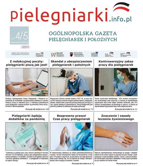 Pielęgniarka/Pielęgniarz – rekompensata za jedno miejsce pracy. Wytyczne NFZ.