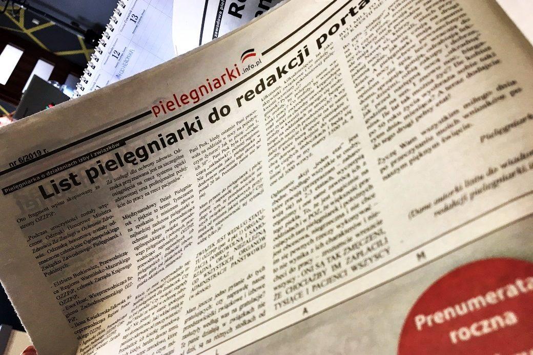 """Miesięcznik Pielęgniarek: """"Co zrobiły, by wreszcie rząd uznał zwyrodnienie kręgosłupa oraz żylaki za choroby zawodowe""""?"""