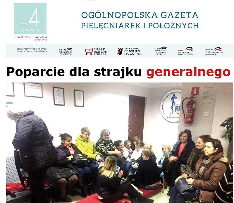 Kilka słów w sprawie zakończonego strajku pielęgniarek i położnych w Staszowie.
