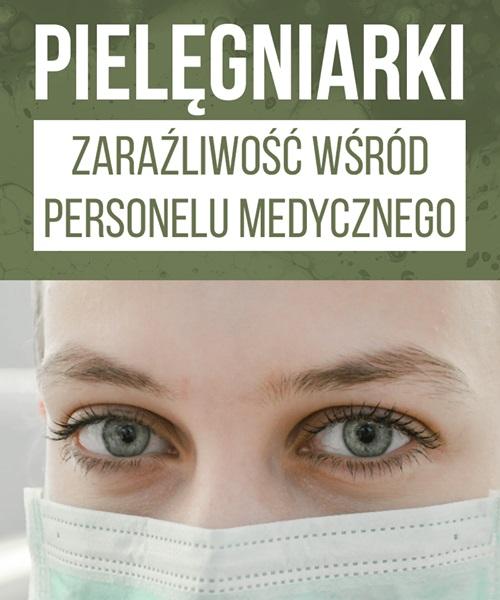 Pielęgniarka zakażona.
