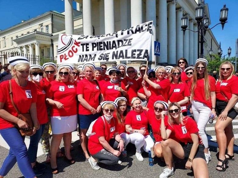 Strajk pielęgniarek – reakcje strony rządowej.